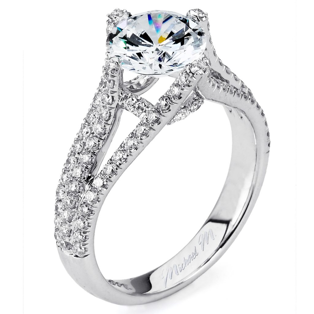 rings engagement solitaire firemark princess cut products ring diamond wedding set