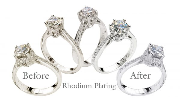 White Gold Jewelry Dull? Rhodium Plating Will Bring Back Its Lustre