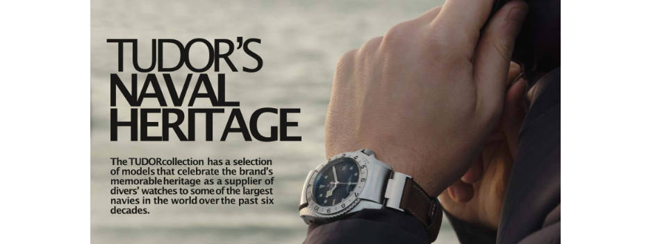 Tudor Shares Its Naval Heritage