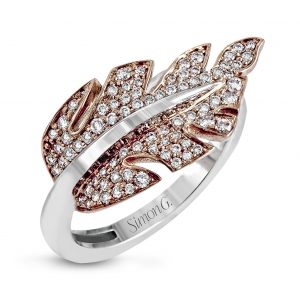 18 Karat Gold Designer Ring